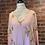 Thumbnail: Robe rose avec petites broderies dorés