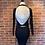 Thumbnail: Robe avec dos ouvert croisé