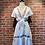 Thumbnail: Robe blanche avec broderies