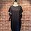 Thumbnail: Robe noire avec perles aux manches