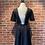 Thumbnail: Robe noire avec dos ouvert