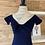 Thumbnail: Robe bleue marin