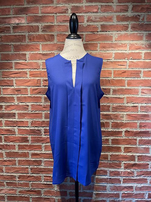 Camisole bleue électrique