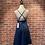 Thumbnail: Robe en jeans avec croisé au devant