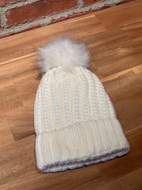 Tuque blanche