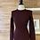 Thumbnail: Robe en tissu élastique avec épaulettes