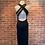 Thumbnail: Robe mi-longue avec bretelles croisées au dos