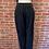 Thumbnail: Pantalon noir avec taille et chevilles élastique