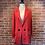 Thumbnail: Veste style veston rouge
