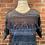 Thumbnail: Chandail à manches courtes bleu/gris