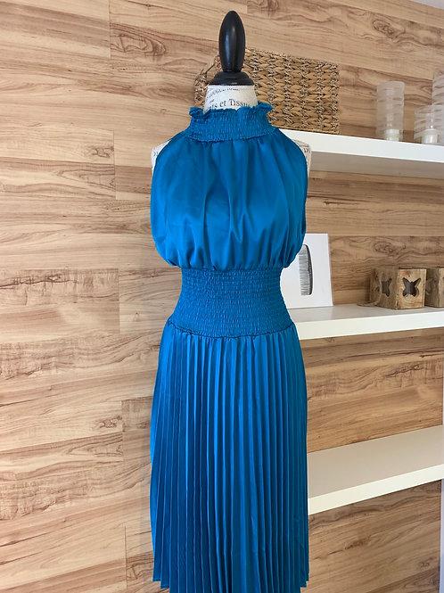 Robe turquoise