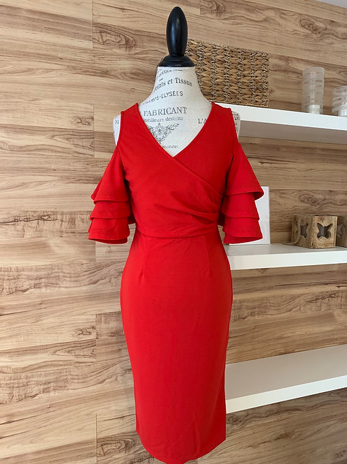 Robe rouge style Espagnol