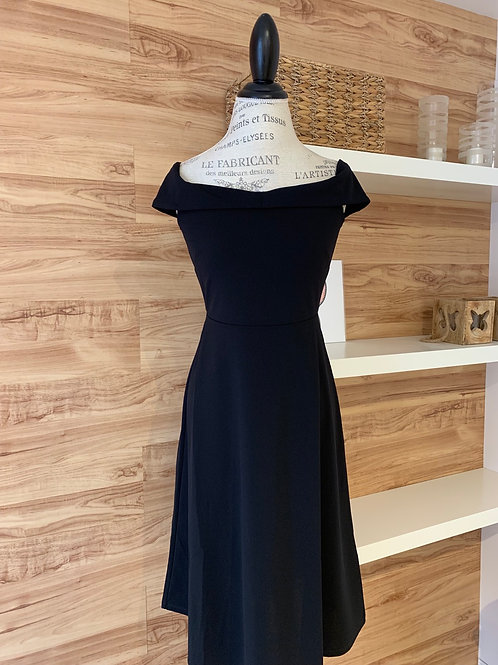 Robe style patineuse