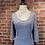 Thumbnail: Robe rayée noire et blanche