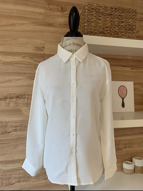 Chemise avec dentelle au dos
