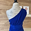 Thumbnail: Robe longue bleue électrique
