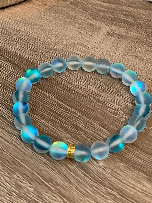 Bracelet de pierres bleues