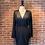 Thumbnail: Robe noire avec haut satiné