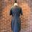 Thumbnail: Robe rayée grise et noire