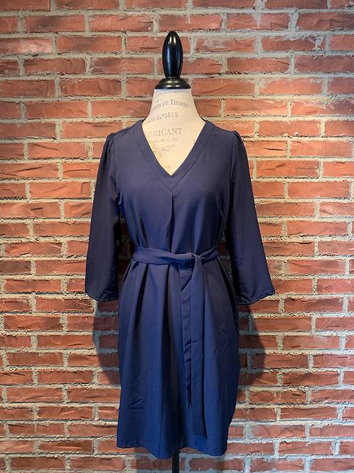 Robe bleu marin