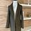 Thumbnail: Veste style manteau en faux suède