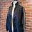 Thumbnail: Veste style bomber jacket avec lignes blanches aux bras