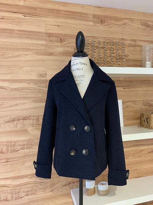 Manteau urbain style caban