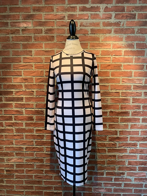 Robe à carreaux