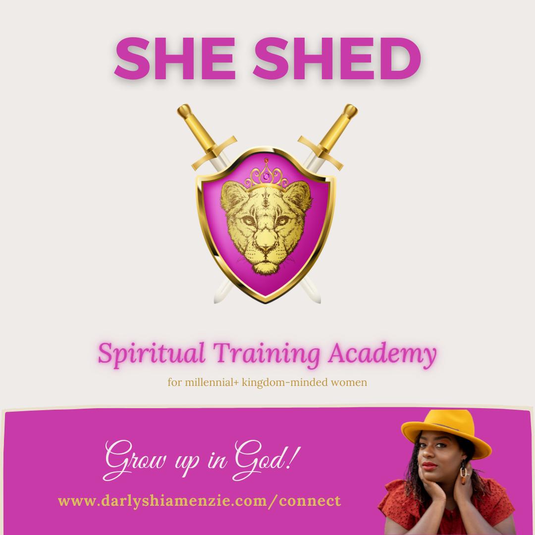 She Shed Spiritual Training Academy