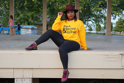 Black, Blessed & Booked Sweatshirt