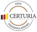 Certuria Siegel AZAV_B (Vektoren, CMYK,