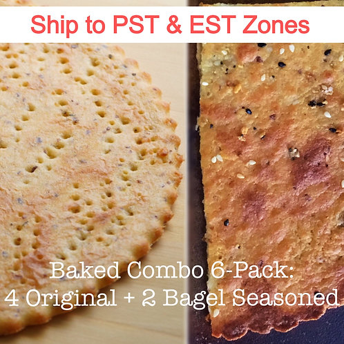 PST & EST Zones Baked Combo 6-Pack ~ Shipping & Applicable Tax Included!
