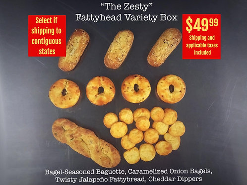"""""""The Zesty"""" Variety Box For Contiguous USA"""