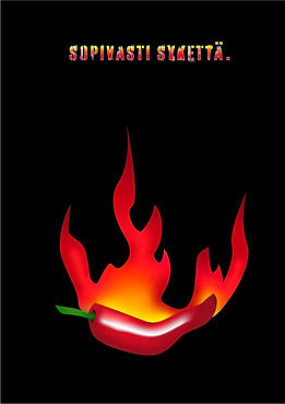 Chili juliste, chili poster