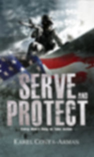 Serve and Protect book Karel Costa-Armas, self-help, personal development, christian book, christian, police, army, military