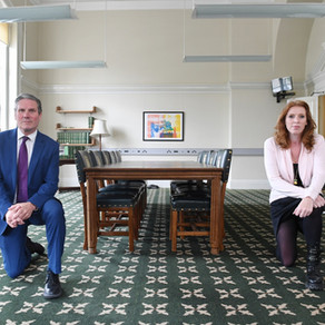 We don't need Keir Starmer to kneel. We need him to get up and fight