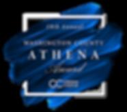 2020 Washington County Athena Award Logo
