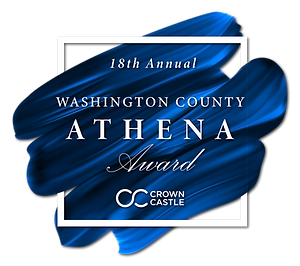 2020 Washington County Athena Award Logo