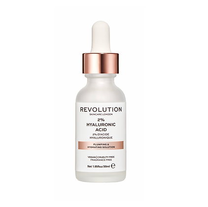 REVOLUTION SKIN Plumping & Hydrating Serum - 2% Hyaluronic Acid