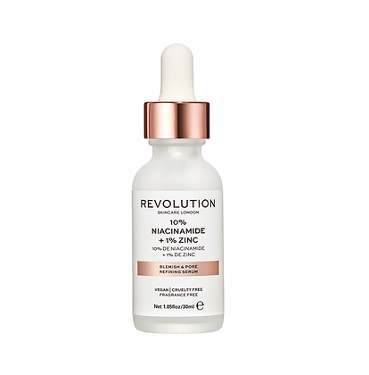 REVOLUTION SKIN Blemish and Pore Refining Serum - 10% Niacinamide + 1% Zinc