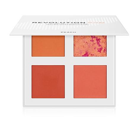 REVOLUTION PRO 4K Blush Palette Peach