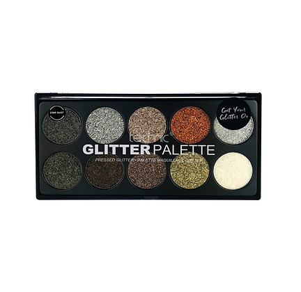 TECHNIC Pressed Glitter Palette