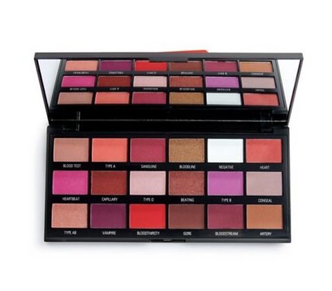REVOLUTION Halloween Blood Chocolate Palette