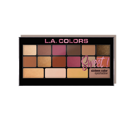 LA COLORS Sweet! 16 Color Eyeshadow Palette