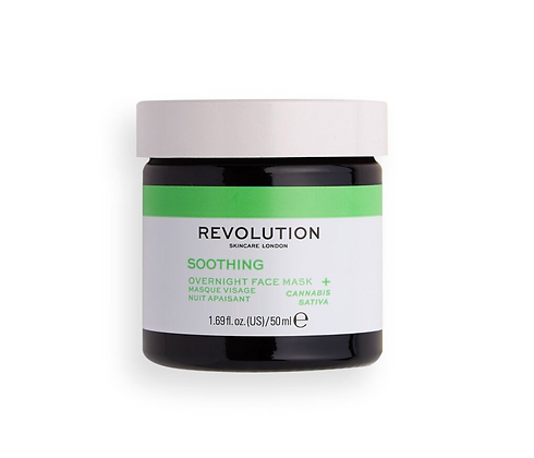 REVOLUTION SKIN Angry Mood Soothing Overnight Face Mask