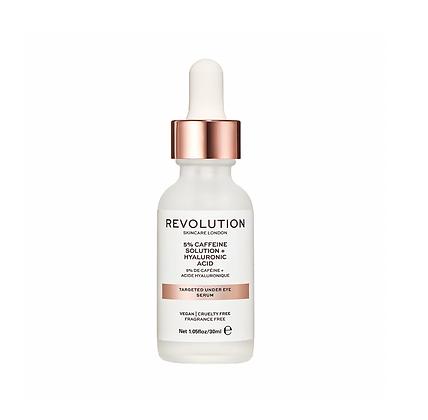 REVOLUTION SKIN Targeted Under Eye Serum - 5% Caffeine + Hyaluronic Acid