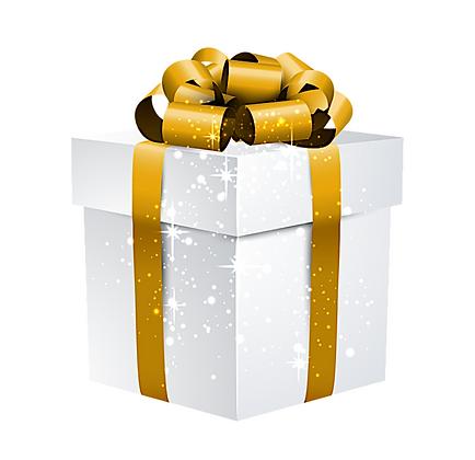 Gift Box Cake Face