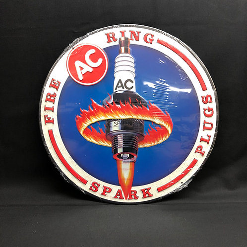 AC Spark Plug Ring Sign