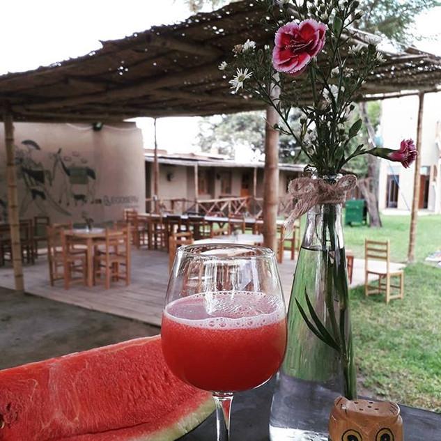 Un refrescante jugo de #sandía cae perfe