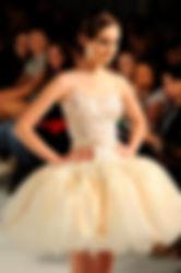 Short Unqiue Bridal Dress